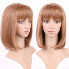 Real Thick Lace Front Hair Wig Long Wave Curly Straight Synthetic Hair Full Wigs
