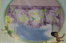 "Disney Fairies Tinker Bell ""Catch You Later""  Window Valance - Purple 50x18 in"