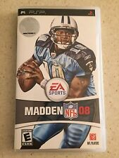 NFL MADDEN 08 PSP GAME RATED E FOR EVERYONE