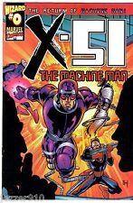 COMICS VO ¤ WIZARD n°0 ¤ 1999 ¤ X-51 THE RETURN OF MACHINE MAN ¤ MARVEL COMICS