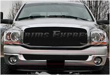 fit:2002-2008 Dodge Ram 1500/2500 Black Billet Grille-Bumper 1Pc