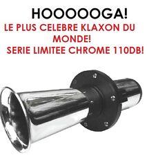HOOOOOOOOOGA! 12V 110DB !! LE PLUS CELEBRE KLAXON DU MONDE! HYPER PUISSANT !!!