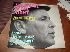 """FRANK SINATRA """" STRANGERS IN THE NIGHT-SEPTEMBER SONG-NANCY...""""  E.P. FRANCE'6?"""
