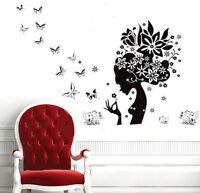 Creative Flower elves Wall Art Decal Sticker Removable Mural PVC Home Decor