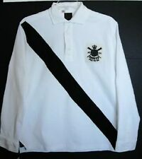 Ralph Lauren Mens Black/White Long-sleeved Rowing Rugby Shirt (XL) NWT