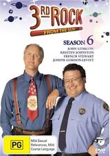 3rd Rock From The Sun : Season 6 (DVD, 2011, 3-Disc Set) John Lithgow