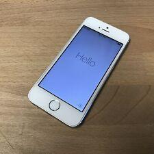 Apple iPhone 5s - 16GB - Silver (Straight Talk) A1533 (CDMA + GSM)