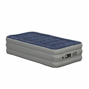 18 inch Air Mattress with ETL Certified Internal Electric Pump and Carrying Case