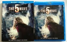 THE 5TH WAVE BLU RAY + SLIPCOVER SLEEVE FREE WORLD WIDE SHIPPING BUY IT NOW