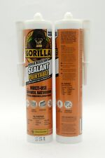Gorilla Glue Mould Resistant Silicone Sealant Clear Multi Use 265ml ONLY £5.99