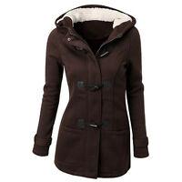 plus mujer chaqueta invierno Tiempo Cálido Abrigo Con Capucha gabardina parka