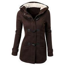 Women's Warm Coat Jacket Outwear Trench Winter Hooded Long Parka Overcoat Tops #