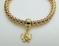 Gold Plated Butterfly Bracelet