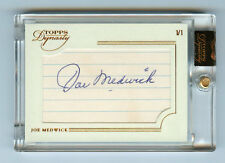 Joe Medwick 2014 Topps Dynasty Cuts 1/1 Legendary Signatures Auto Autograph Sp