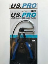 US Pro Long Reach Flexible Hose Clamp Clip Band Ratcheting Removal Pliers 2056