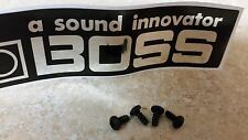 Bag of TEN (10) NEW Boss Pedal & Others - Bottom plate replacement screws -
