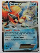 Keldeo ex - 49/149 BW Boundaries Crossed - Ultra Rare Pokemon Card