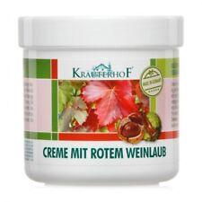 KRAUTERHOF  Horse Chestnut Red Vine Leaves Cream Varicose Veins Tired Numb Feet