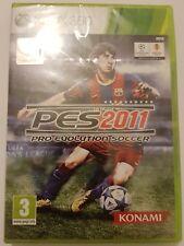 Pro Evolution Soccer 2011 PES 2011 Xbox 360 pal España Nuevo+Sellado de Fabrica