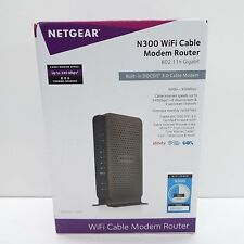 NETGEAR C3000 DOCSIS 3.0 WIRELESS N300 WI-FI CABLE MODEM ROUTER (T41)