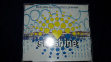 DR. MOTTE AND WESTBAM PRESENT: Sunshine Techno Maxi CD 3 Tracks GUT!!!
