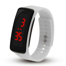 LED Silicone Rectangular Second-generation LED Watch Silicone Watch Wristband