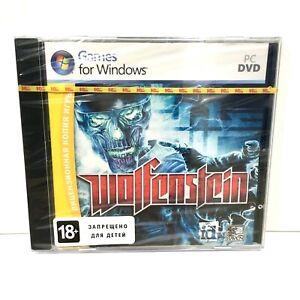 Wolfenstein PC Game Russian Rare Brand NEW in Jewel Case