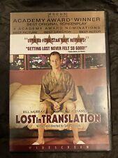 """Lost in Translation"" - Widescreen - Dvd"