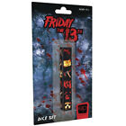 Friday the 13th Dice Set - Brand New & Sealed