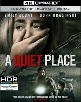 A Quiet Place [New 4K UHD Blu-ray] With Blu-Ray, 4K Mastering, 2 Pack