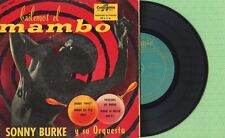 SONNY BURKE / Bailemos El Mambo / COLUMBIA ECGE 70.130 Press Spain 1956 EP VG