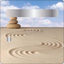 Adesivo cassetta della posta decocrazione Ciottolo sul sabbia 30x30cm 3513