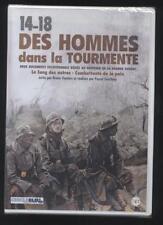 NEUF DVD 14-18 DES HOMMES DANS LA TOURMENTE 2 DOCUMENTS DE LA GRANDE GUERRE