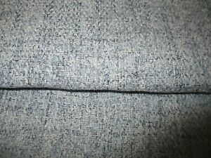 DOVE GREY LINEN WEAVE QUALITY UPHOLSTERY FABRIC  FIRE RETARDENT.