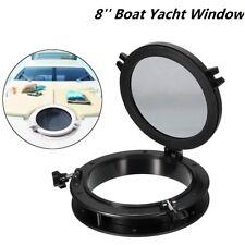 8''Bateau Yacht Rond Hublot Fenêtre D'ouverture Port Hole Portlight Hatch Marine