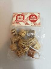 Town Square Miniatures Dollhouse Woven Baskets Bag - 12 Baskets Per Bag - New B3