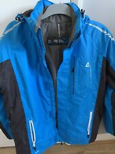 Dare 2b Ski Jacket Mens Detachable Hood Medium Blue