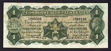 Australia R-24. (1926) 1 Pound - Kell/Collins.. George V Portrait..  aVF