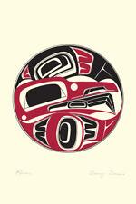 Raven Danny Dennis Art Card Tsimshian Northwest Coast Native No. 3030