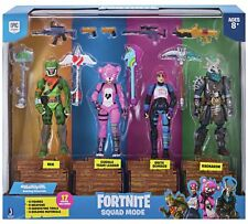 FORTNITE - SQUAD MODE 4 FIGURE PACK - BRAND NEW - FAST DISPATCH