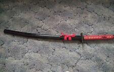 Chinese Made Katana Sword 1060 Sharp Blade With Lacquered Wood Sheath