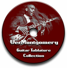 WES MONTGOMERY JAZZ CHITARRA INTAVOLATURE CANTO BOOK SOFTWARE COLLEZIONE CD