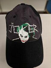 Batman DC Comics The Dark Knight Joker Heath Ledger Black Hat Cap