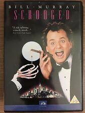 Bill Murray Karen Allen SCROOGED ~ 1988 Christmas Commedia classico UK DVD