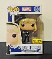 Funko Pop! Marvel - Spider-Gwen Unhooded #153 - Hot Topic Exclusive