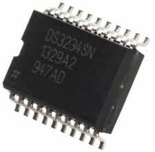 Maxim DS3234SN#, Real Time Clock (RTC), 256B RAM Serial-SPI, 20-Pin SOIC