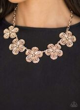 Paparazzi jewelry necklace Gold Rose