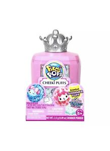 NEW Pikmi Pops Cheeki Puffs Surprise Blind Pack. Pink, Crown Top New