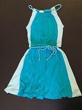 ELLA MOSS Princess Dress Size 6X Little Girls Aqua Teal Blue