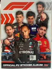 STICKER Album Topps FORMULA 1 2020 / 2021 + SET COMPLETO 232 figurine da attacca